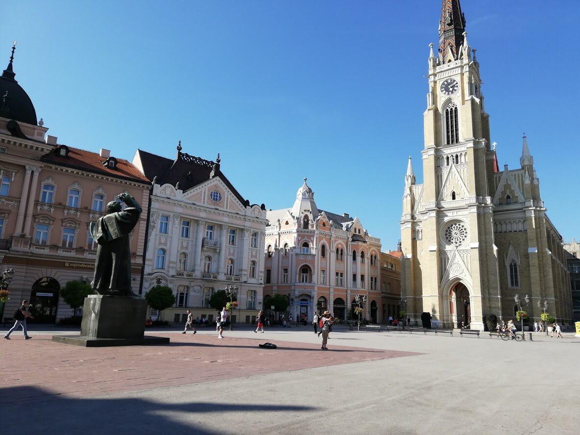 Novi Sad Catedrale