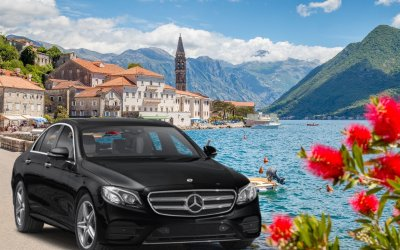 Taxi transfer from Tivat Airport to Herceg Novi
