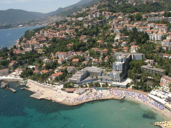 Beaches in Herceg Novi